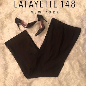 Lafayette 148 New York Pants - Lafayette 148 Flat Front Trouser Pants